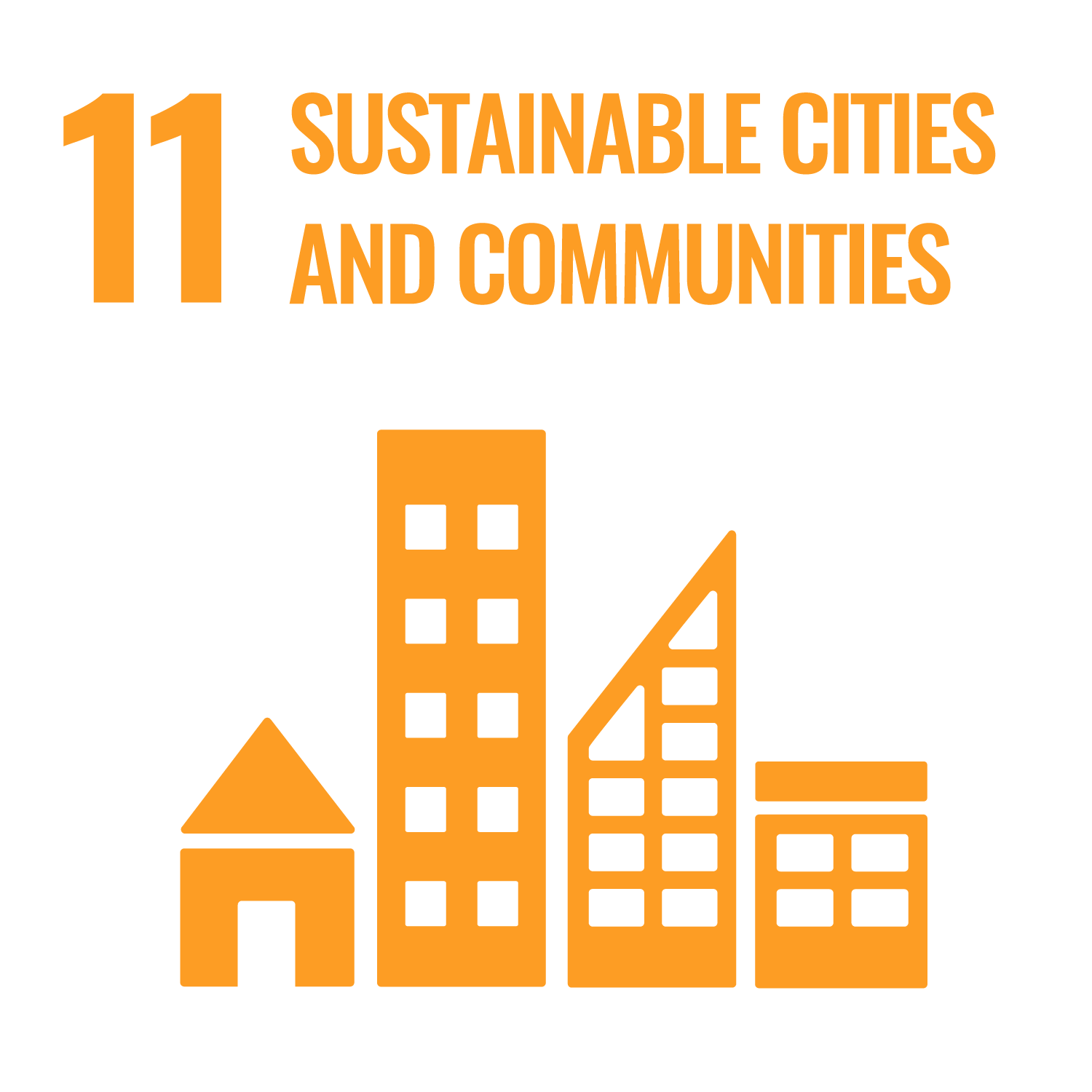 "UN Sustainable Development Goal 11 ""Sustainable cities and communities"""