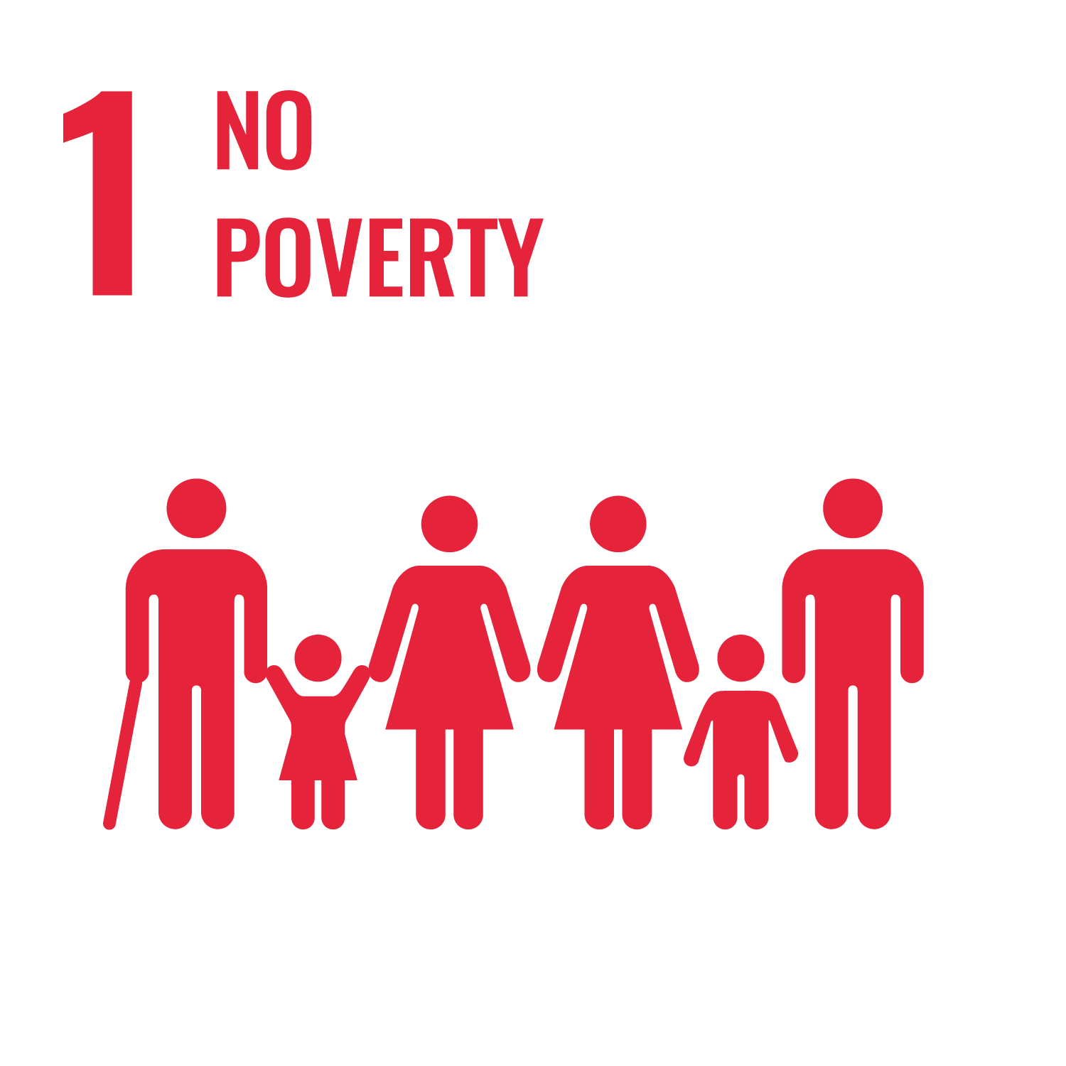 "UN Sustainable Development Goal 1 ""No Poverty"""