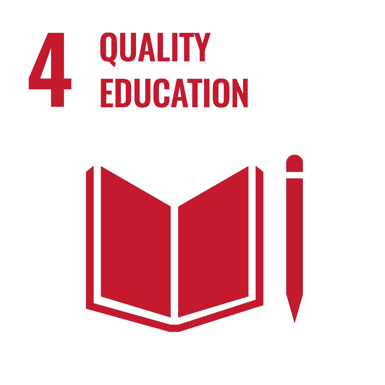 "UN Sustainable Development Goal 4 ""Quality Education"""