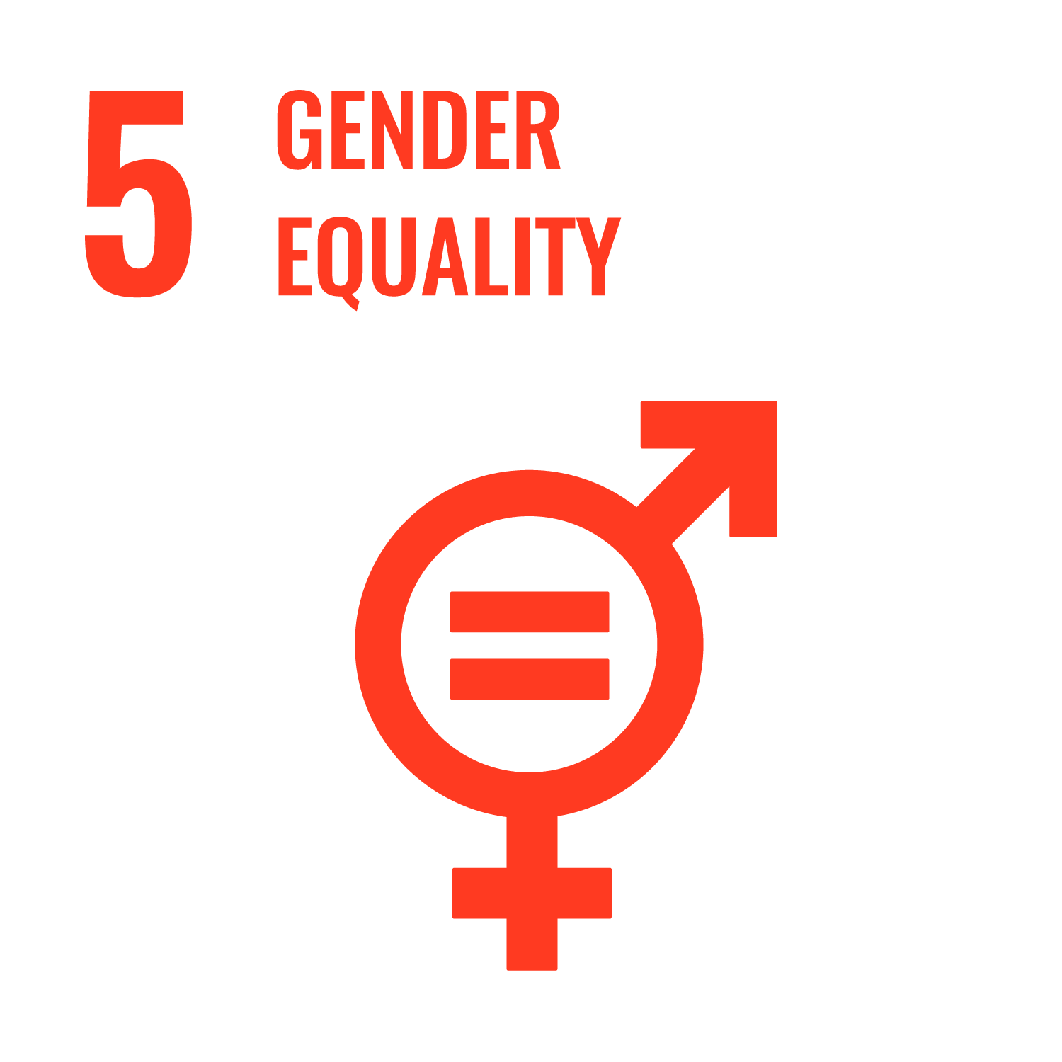 "UN Sustainable Development Goal 5 ""Gender Equality"""