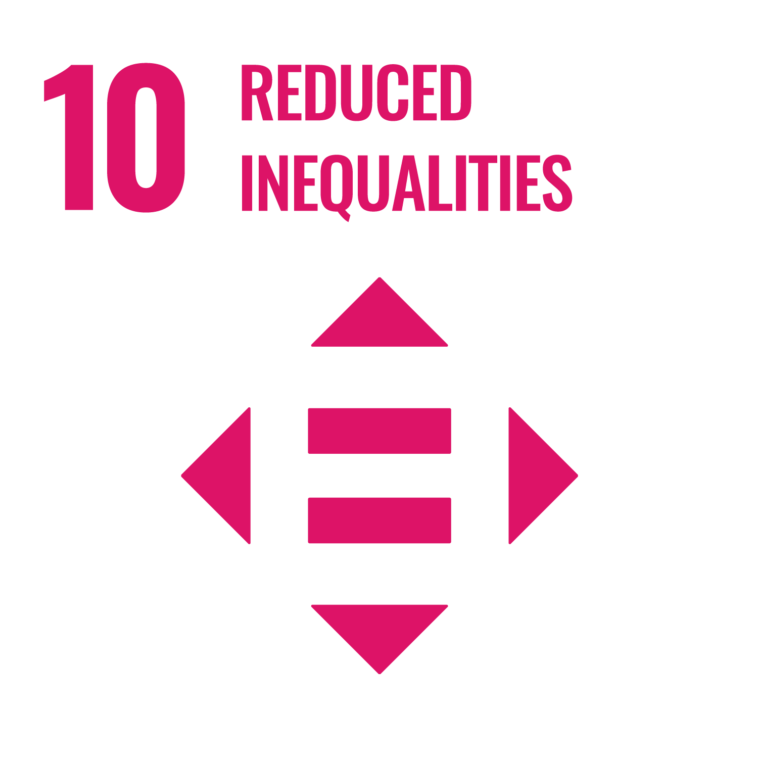"UN Sustainable Development Goal 10 ""Reduced Inequalities"""