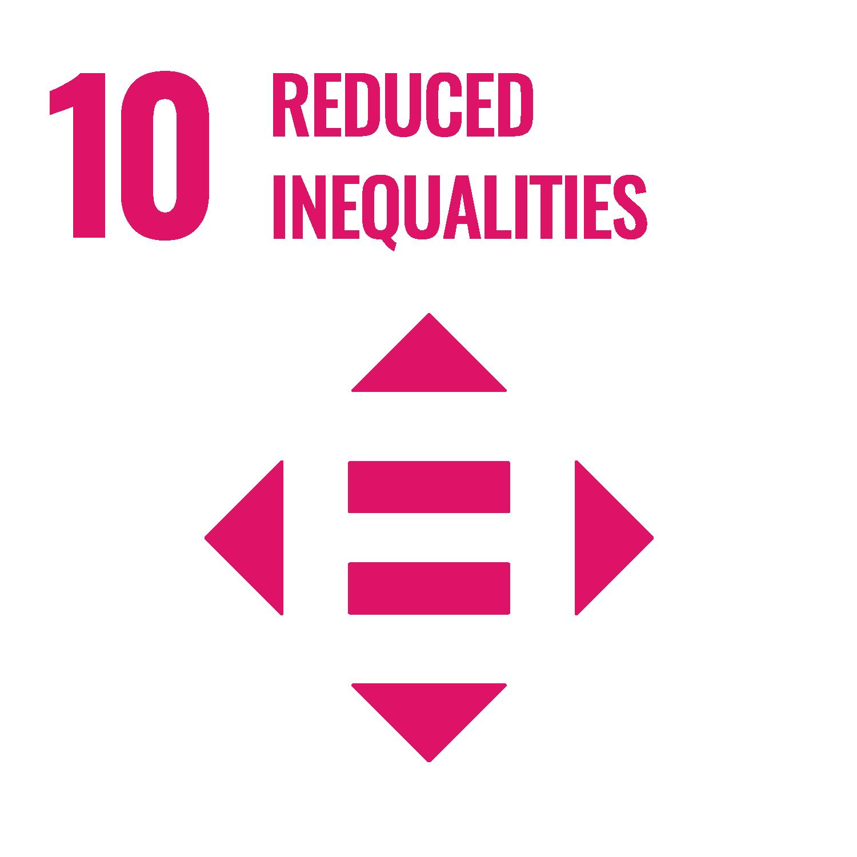 "UN Sustainable Development Goal 10 ""Reduced Inequalities"""
