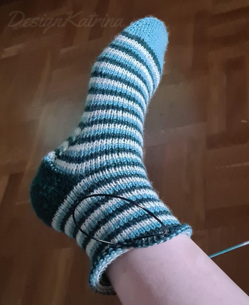 Början på sockor