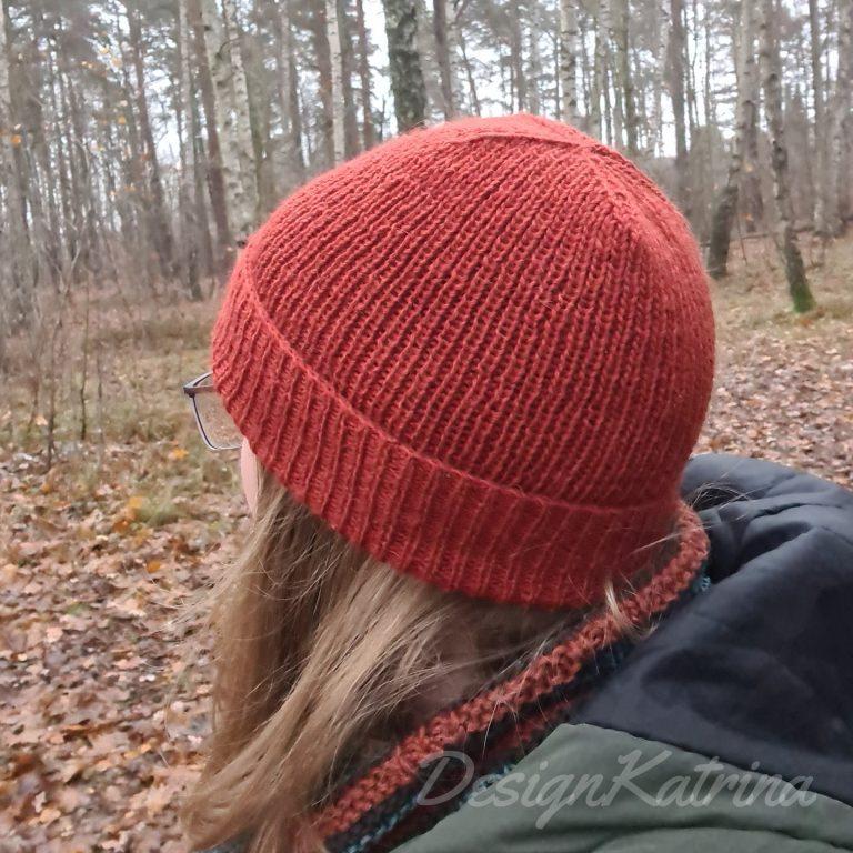 Cheeky hat i roströd