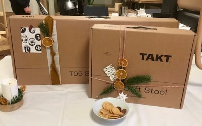 Vennernes juleafslutning hos TAKT