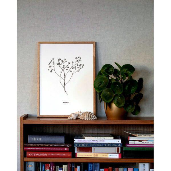 rölleka, tansy, poster, print, tavla, affisch