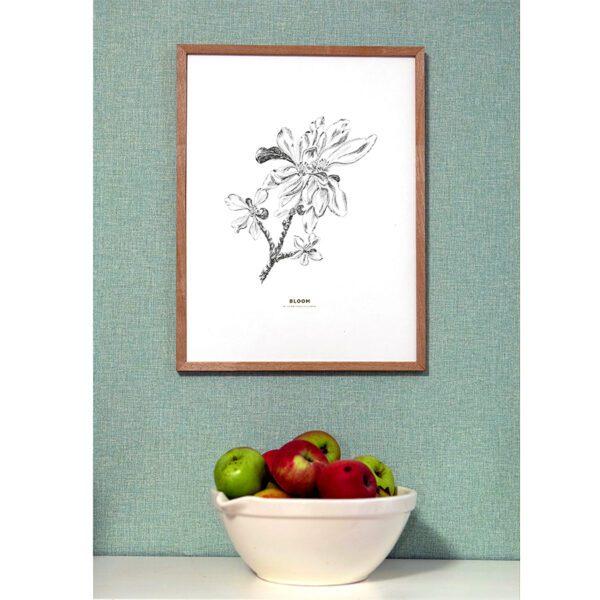 Appleblossom, äppleblom, print, poster, affisch