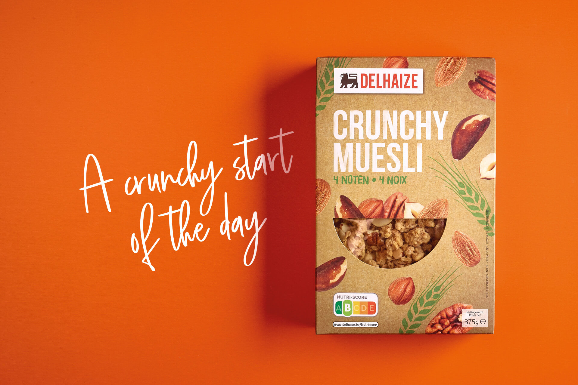 Delhaize Crunchy Muesli Packaging