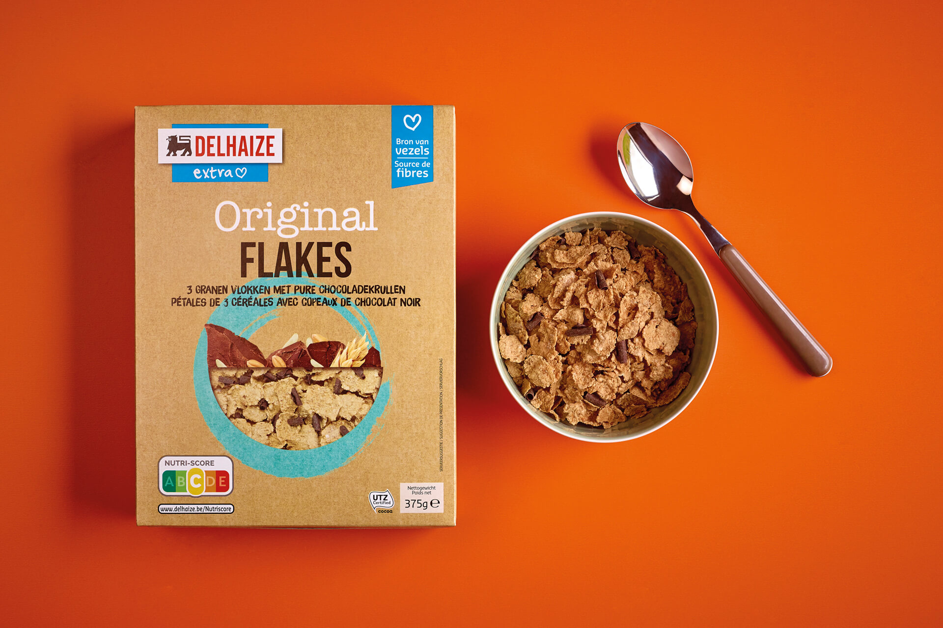 Delhaize creation emballage - Delhaize Crunchy Muesli Packaging