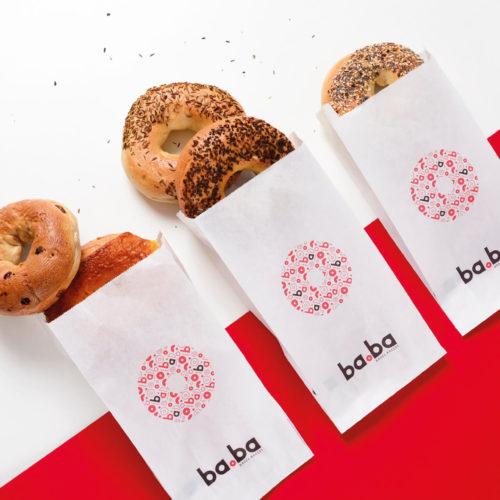 bagel bakery baba design par Designrepublic
