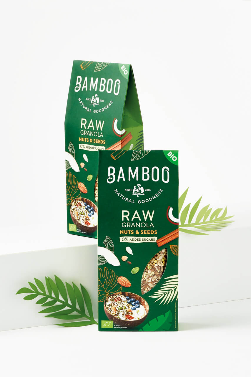 Bamboo Raw design by DesignRepublic Belgium
