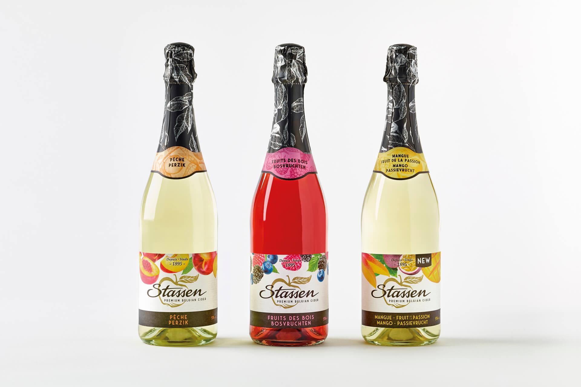 Fresh design by DesignRepublic for Stassen - Stassen Fruit Cider Packaging