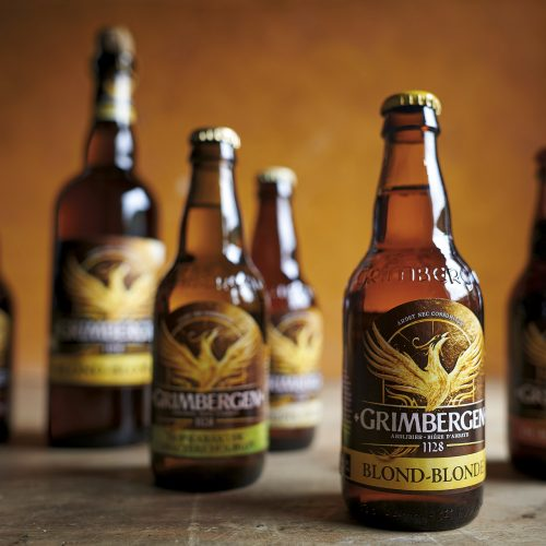 GRIMBERGEN Working on a true legend & the 4th oldest brewery in the world. By DesignRepublic branding & packaging Belgium.