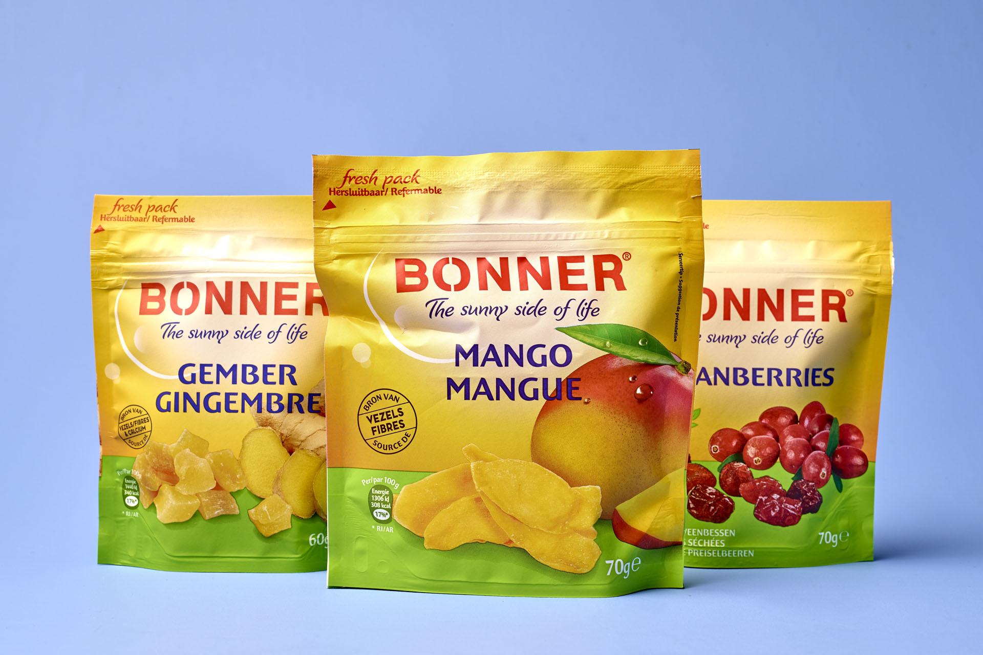 Bonner brand relift by DesignRepublic, branding and packaging design agency Belgium