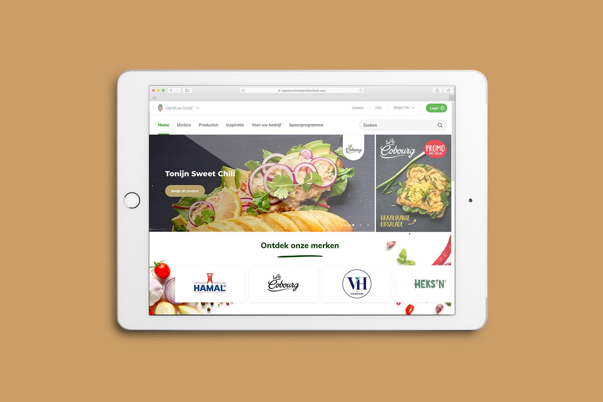 Le cobourg branding & packaging design by DesignRepublic, Belgium