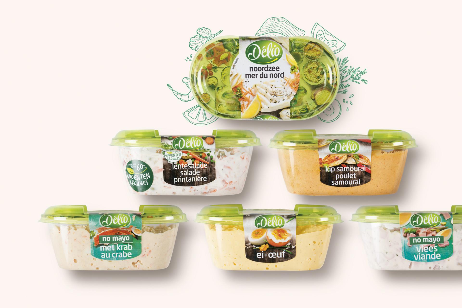 Delio salades