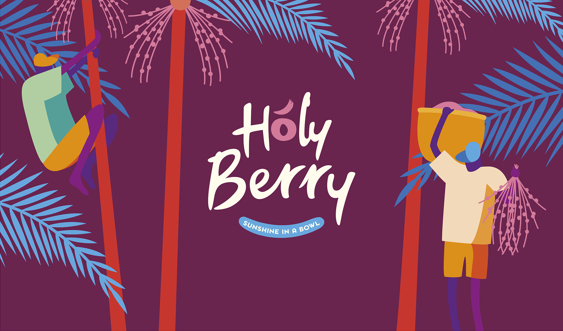 colorful logo holy berry