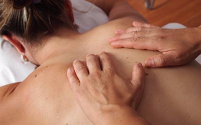 Massage på Möckelsnäs