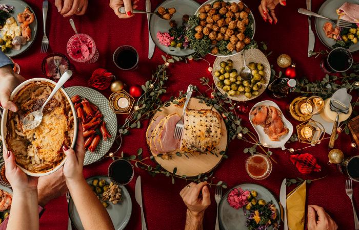 Julbord på Möckelsnäs