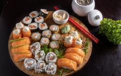 Tema Japansk mat på Möckelsnäs