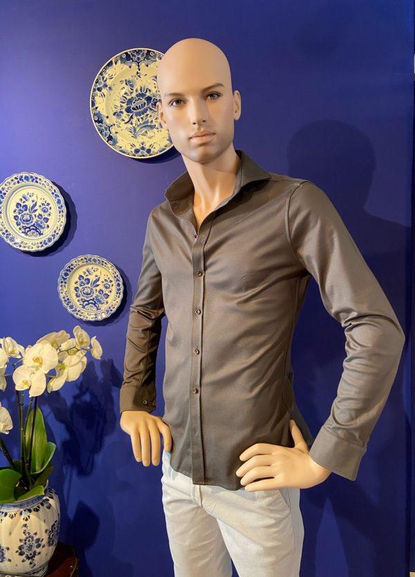 Desoto luxury shirt Groen