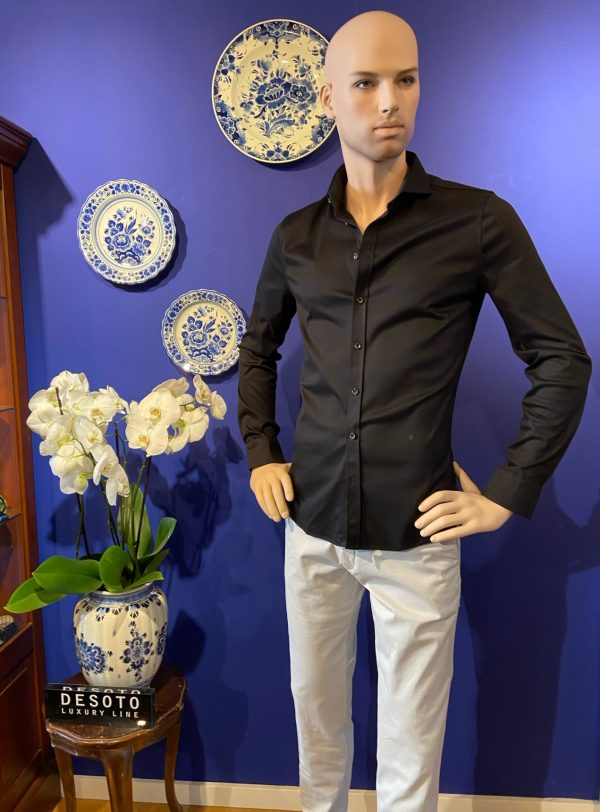 Desoto luxury shirt zwart