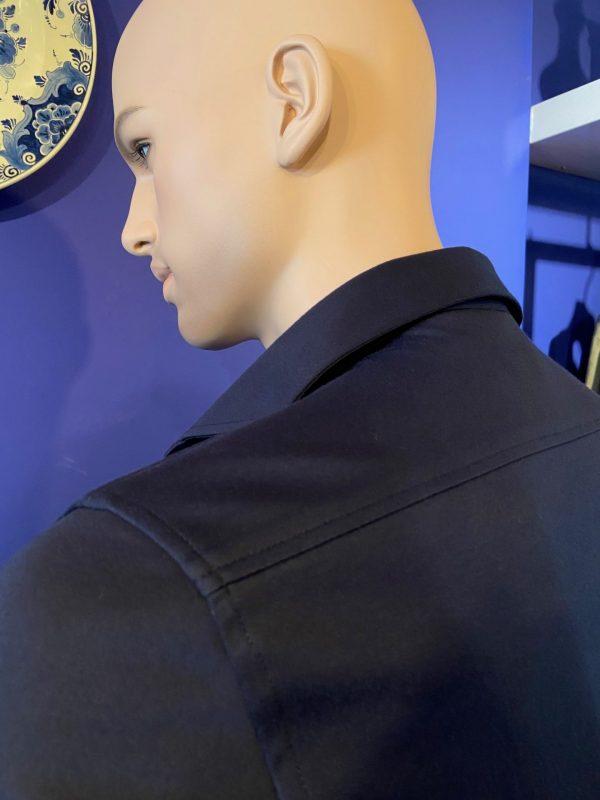 Desoto luxury shirt blue detail