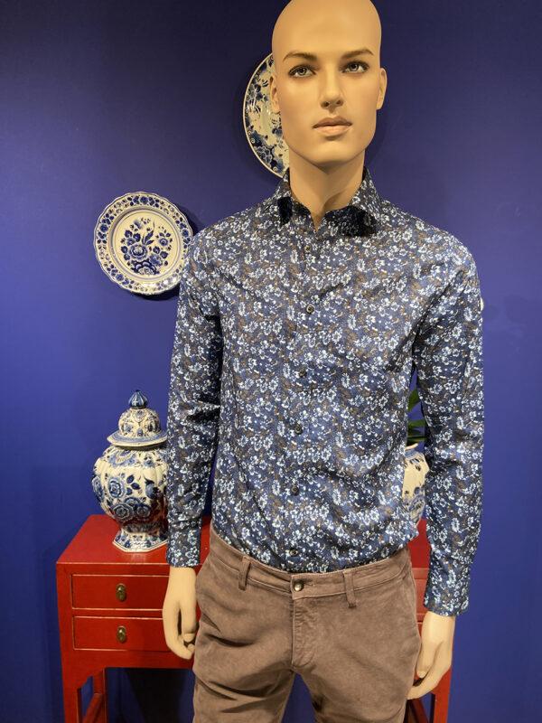 Tresanti flowercheck shirt