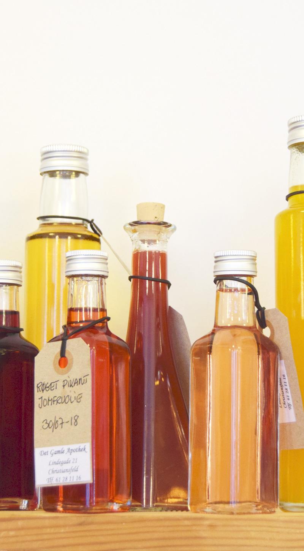 Tapperi med olie og balsamico