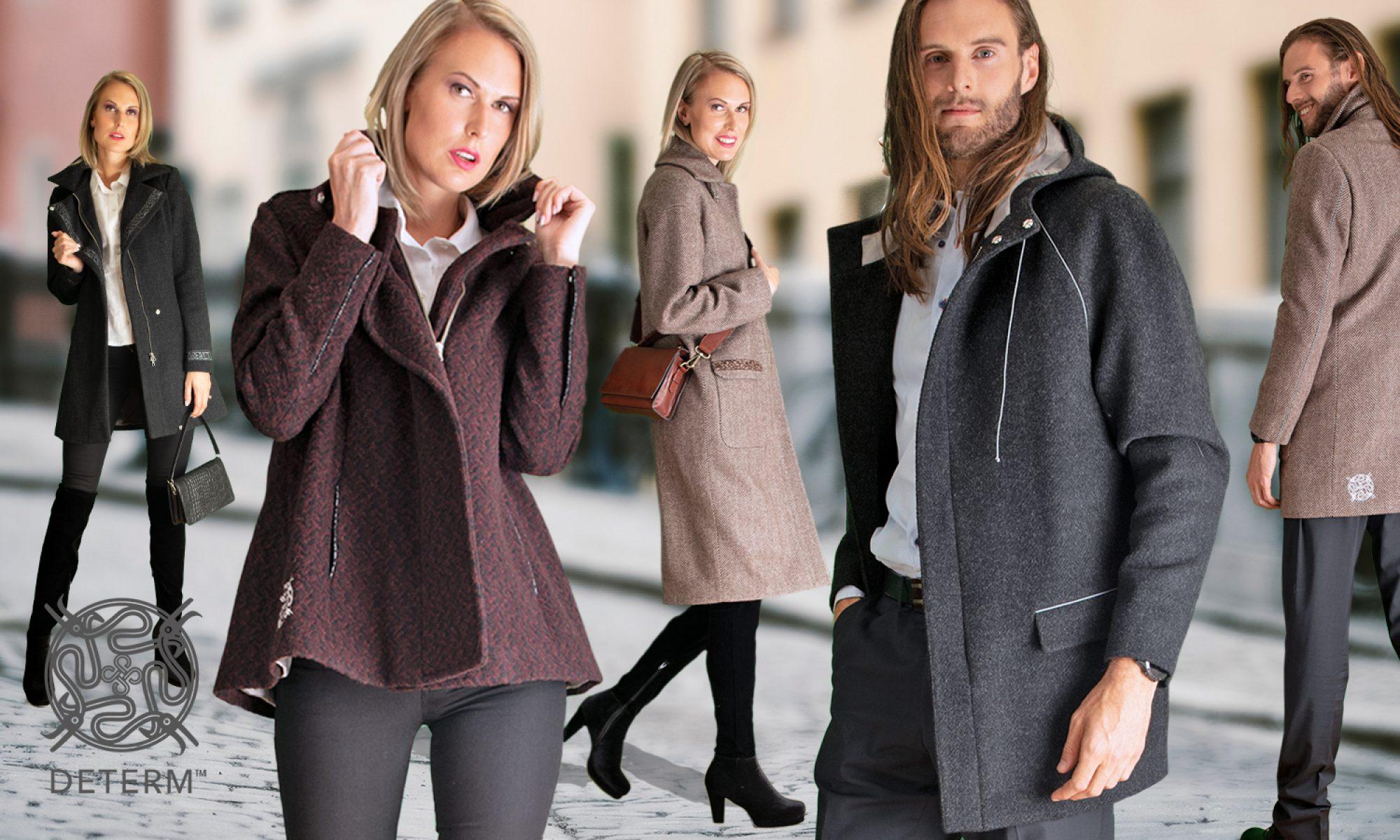 DeTerm™ coats and clothing – Ecologic, beautiful, high