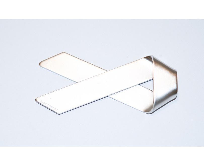 Oplukker, rustfrit stål, 10×5 cm