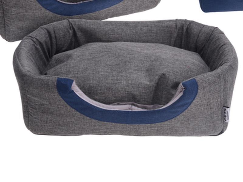 Hund:katte seng grå