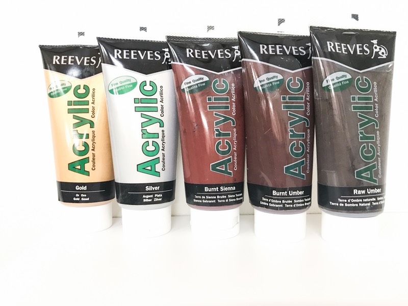 Reeves Acrylic maling