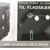 Tyndt tv ophæng bæreevne op til 50 kg
