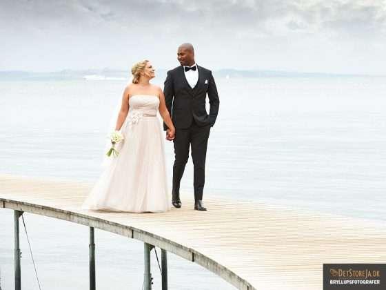 bryllupsfotograf aarhus brudepar bro