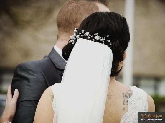 bryllupsfotograf brudens diadem
