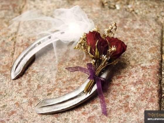 bryllupsfotograf hestesko toerrede blomster