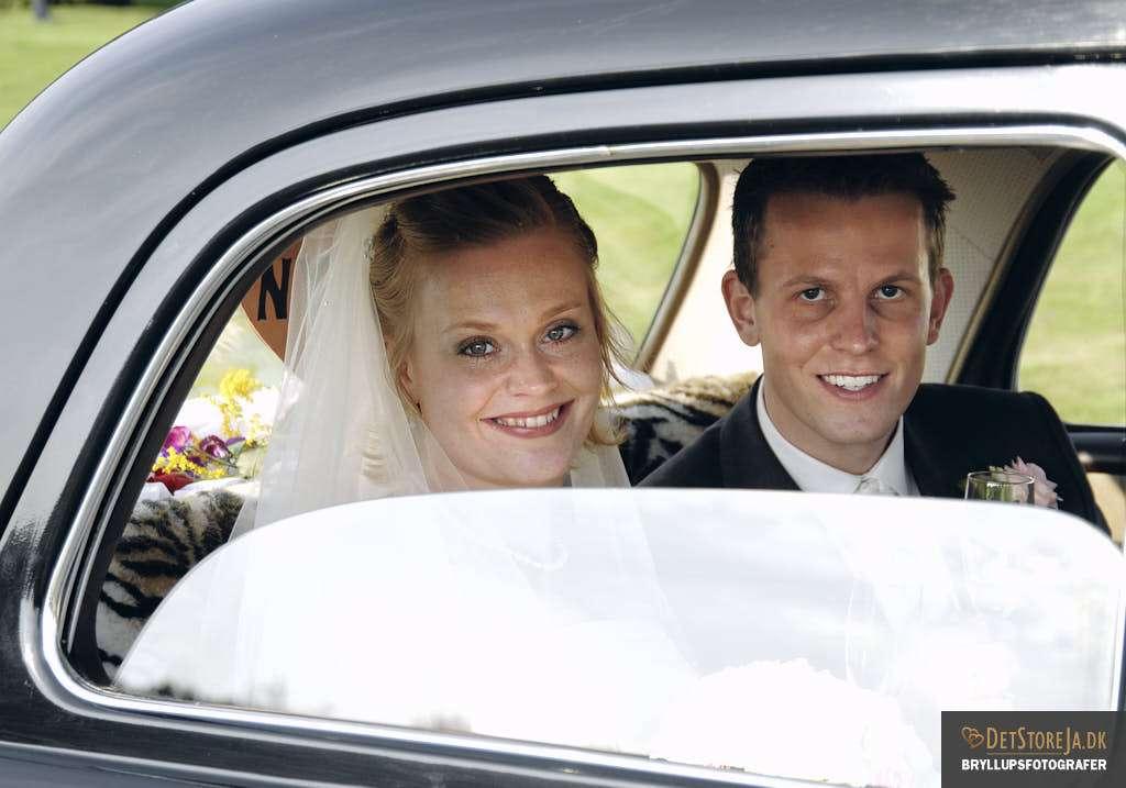 brudepar mercedes bryllup læsø