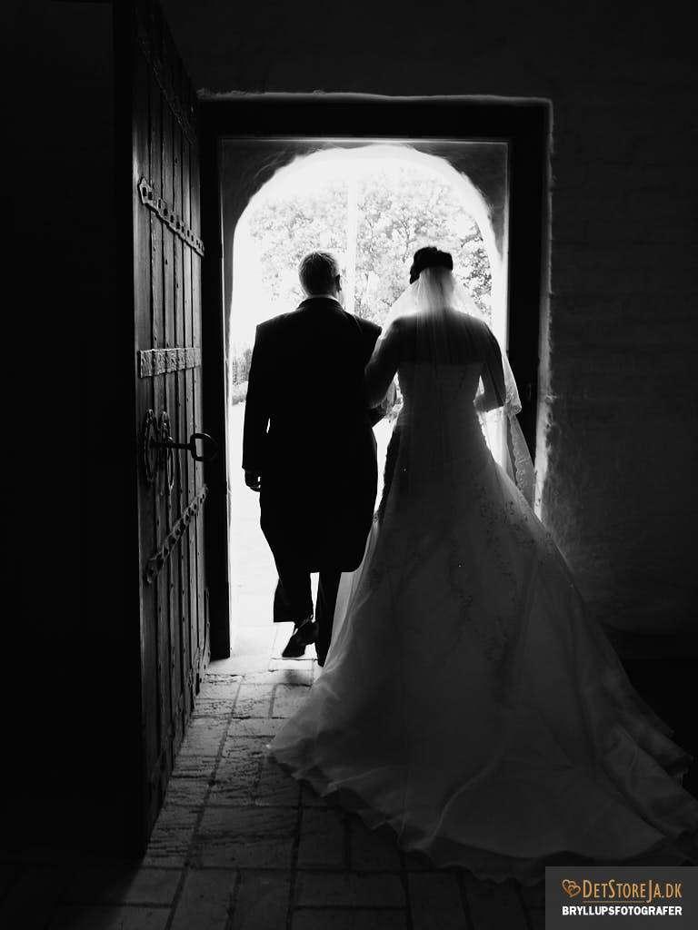 bryllupsfotograf aalborg exit kirke