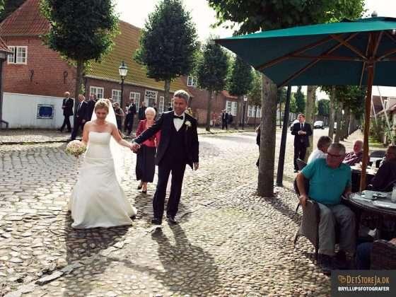 bryllupsfotograf tønder møgeltønder byvandring sønderjylland
