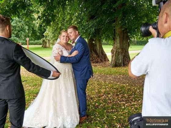 bryllupsfotografen på arbejde bryllupsbilleder