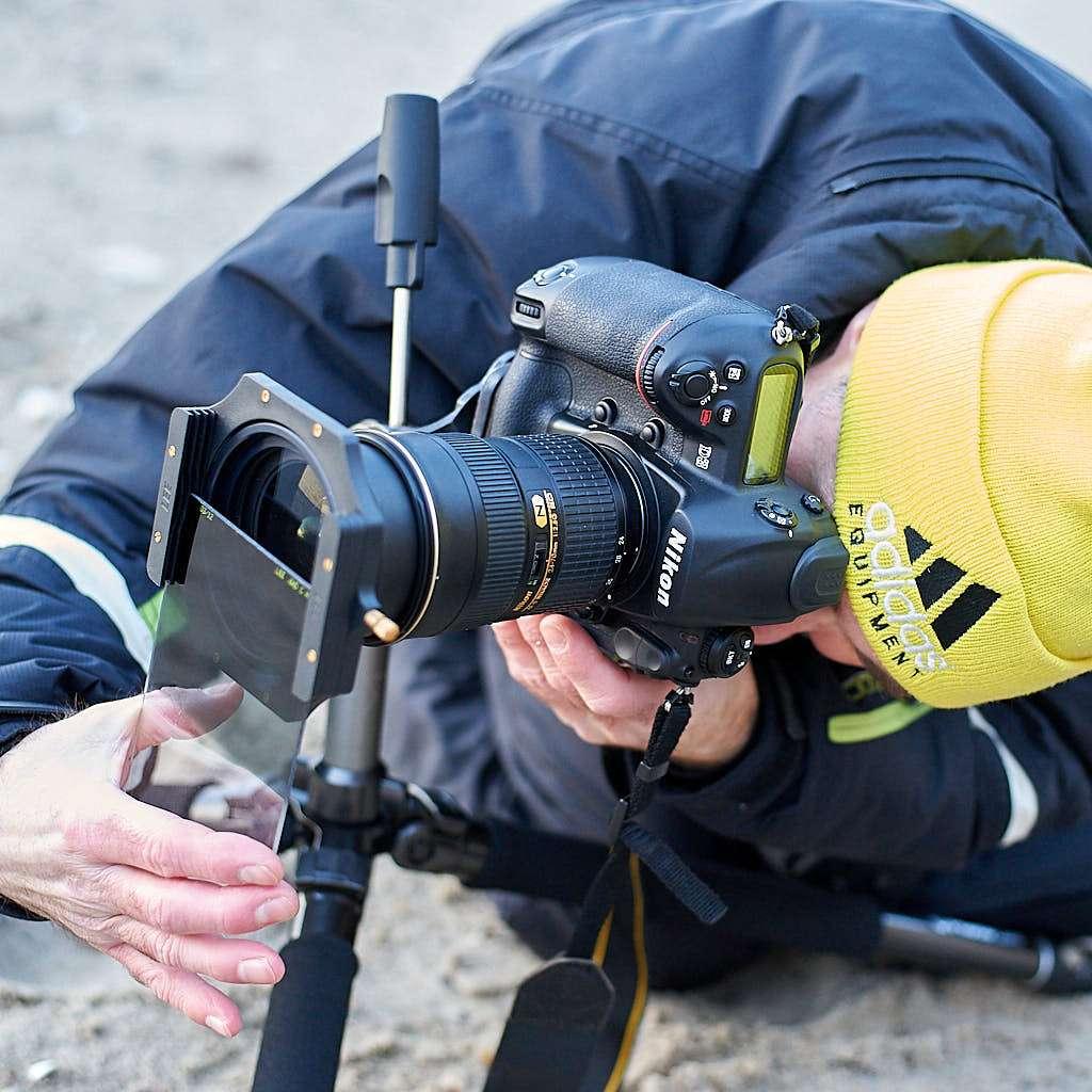 fotograf på arbejde lee filters
