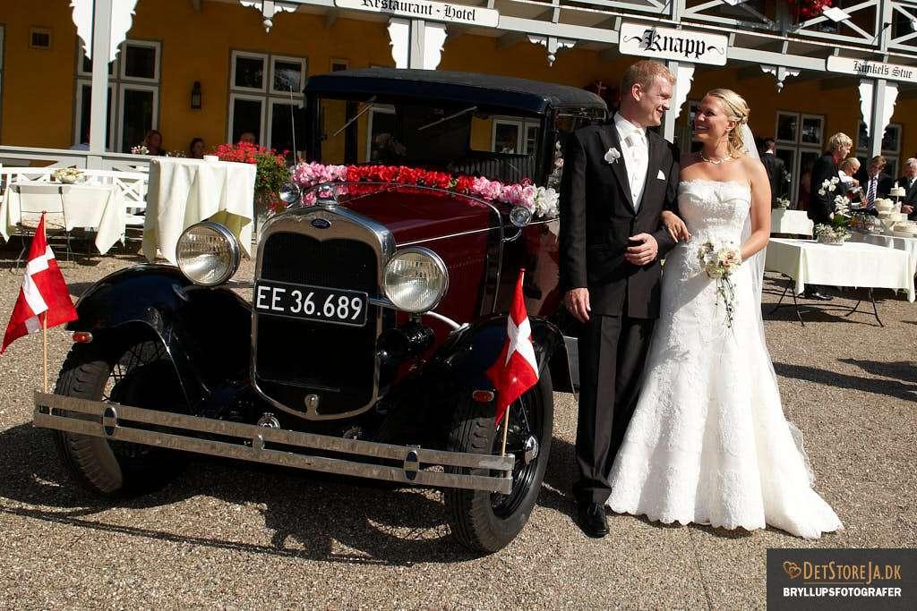 bryllupsfotograf sønderjylland bryllupsbiler