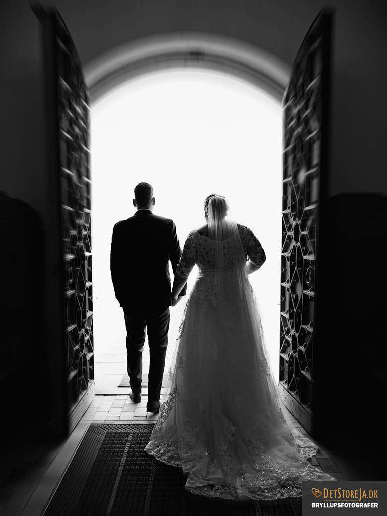 bryllupsfotograf horsens gauerslund kirke