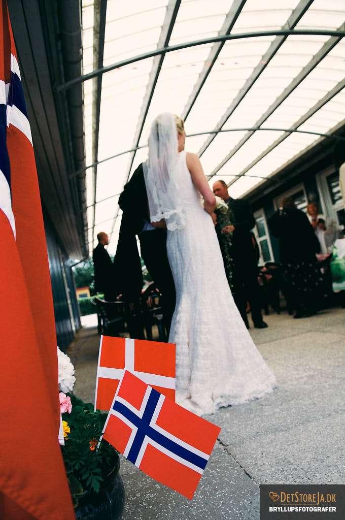 fotograf bryllup randers dansk norsk bryllup