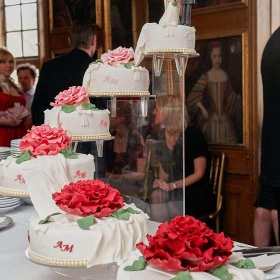 ledreborg slot skaevestuen bryllup kage