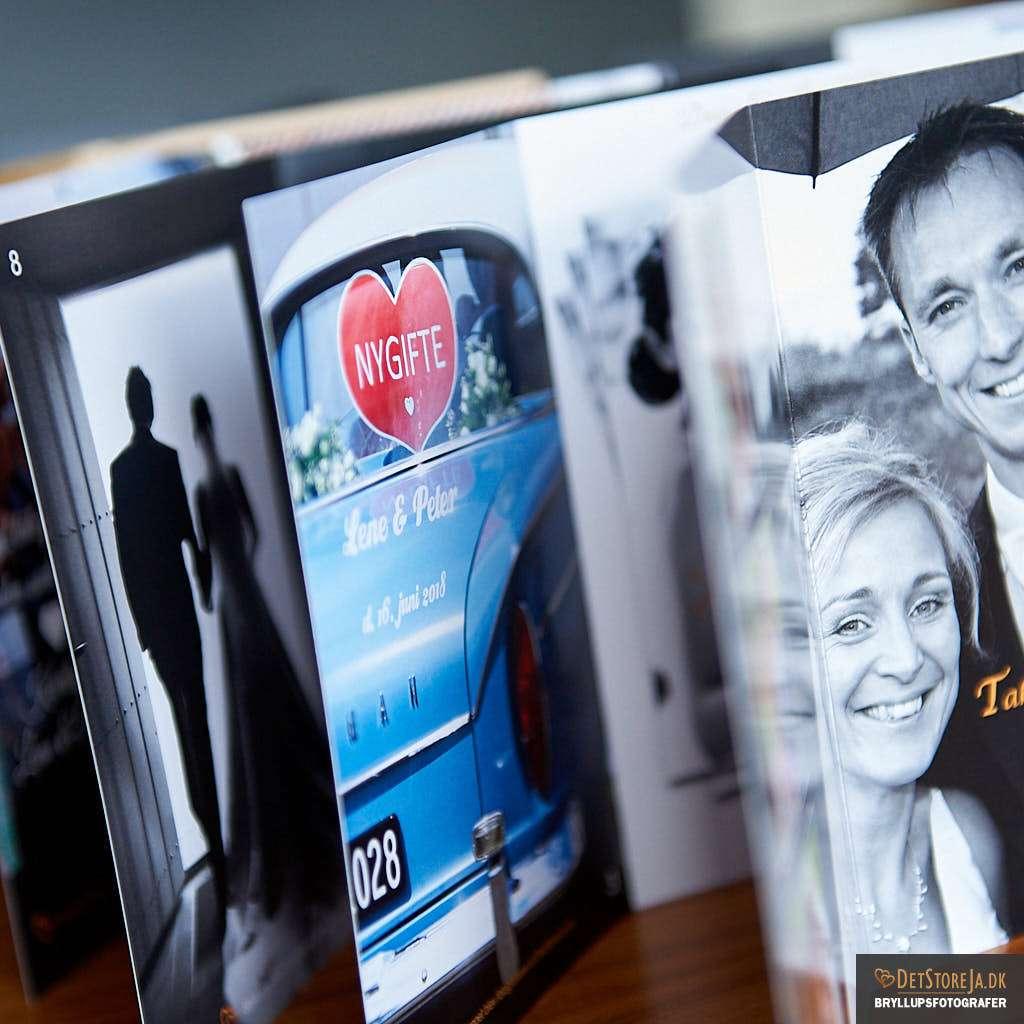 takkekort bryllupsbilleder fotograf