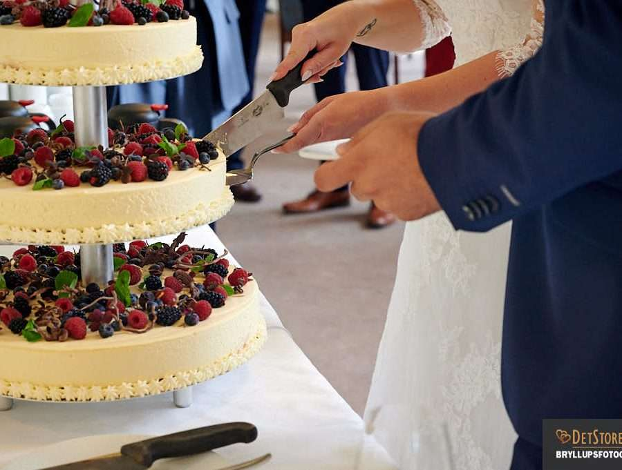 kageskæring bryllup 2020