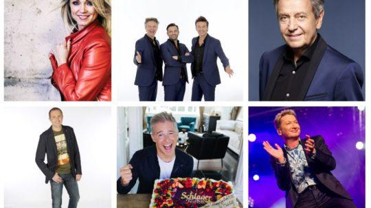 Schlagerfestival vereeuwigt artiesten met een eigen ster op (Hasseltse) Walk of Fame