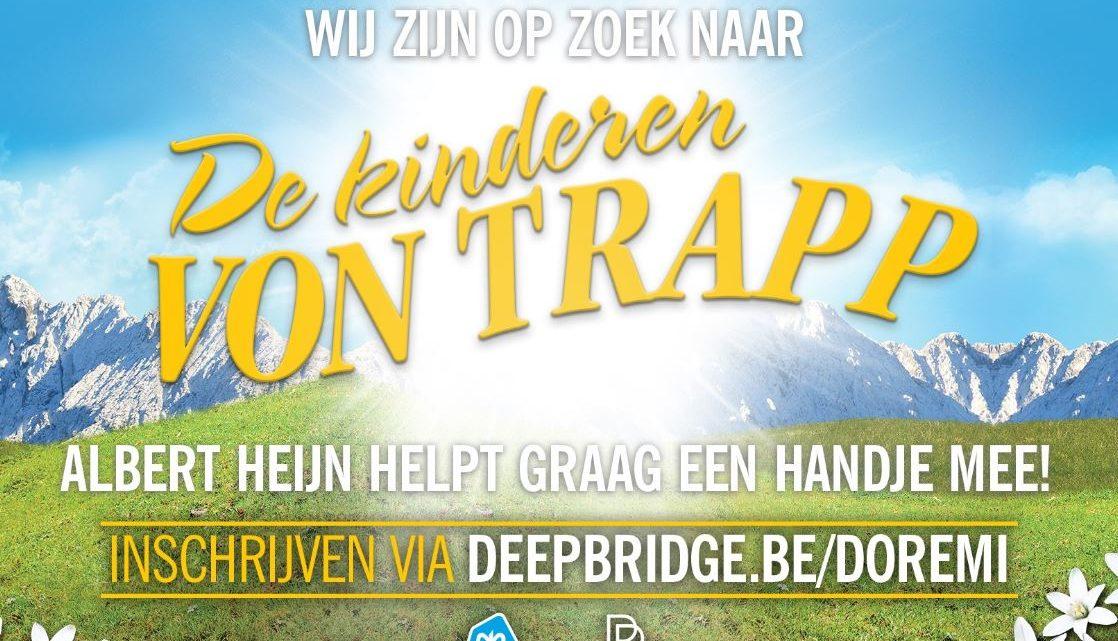 'The Sound of Music' zoekt Von Trapp-kinderen
